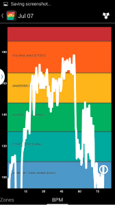 Heart Rate Zones (Graph)
